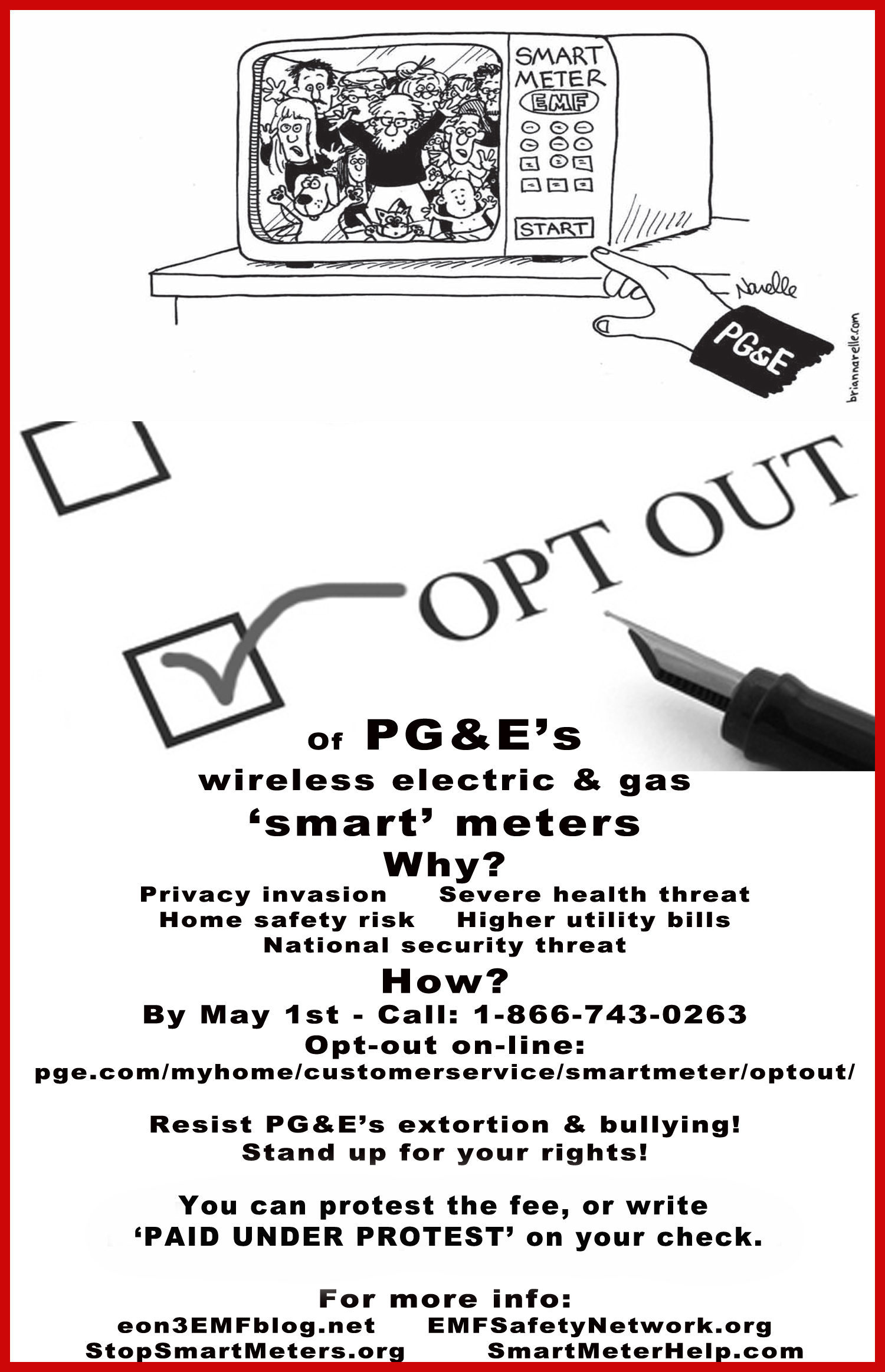 Pg Amp E Smart Gas Meter Reading Rad : Opt out options so cal utilities now included