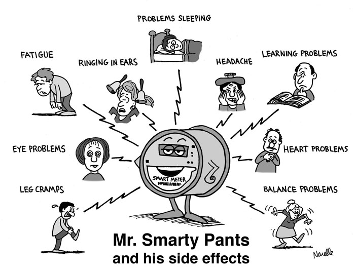 Image result for public domain image of smart meter symptoms